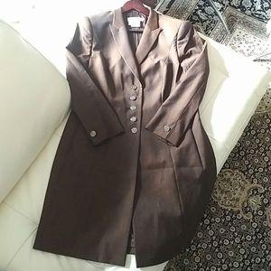 ESCADA - Margaretha Ley knee length wool jacket